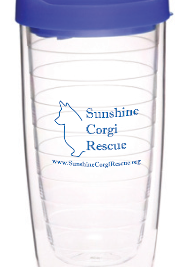 sunshine corgi rescue tumbler